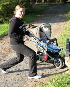 Outdoortraining mit Baby