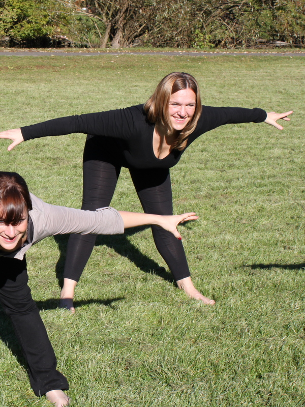 Pilates Trainierin Heike Thierbach