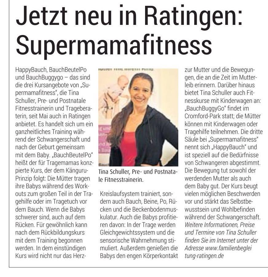 superMAMAfitness in Ratingen