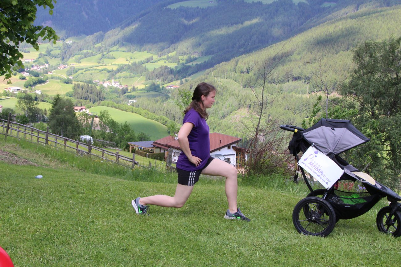 Fitness mit Baby - superMAMAfitness